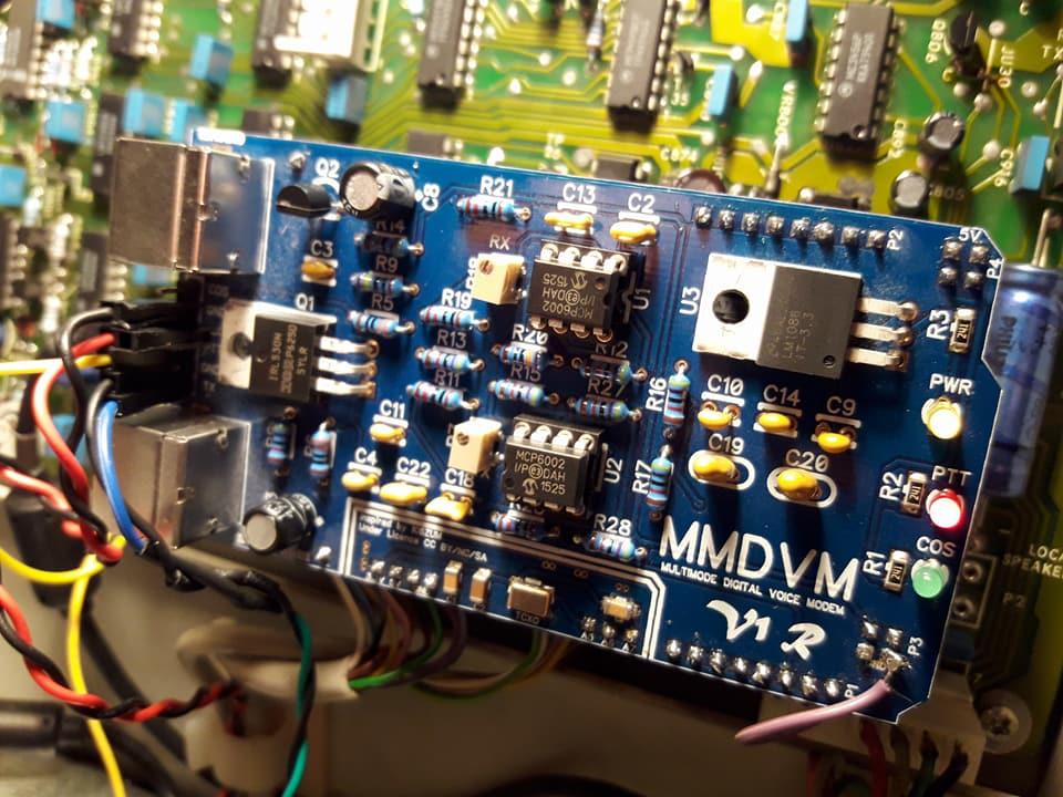 Motorola R100 Repeater goes digital | | F4FXL