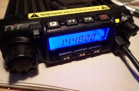 And so I wanted to use a TYT TH-9000D for APRS …