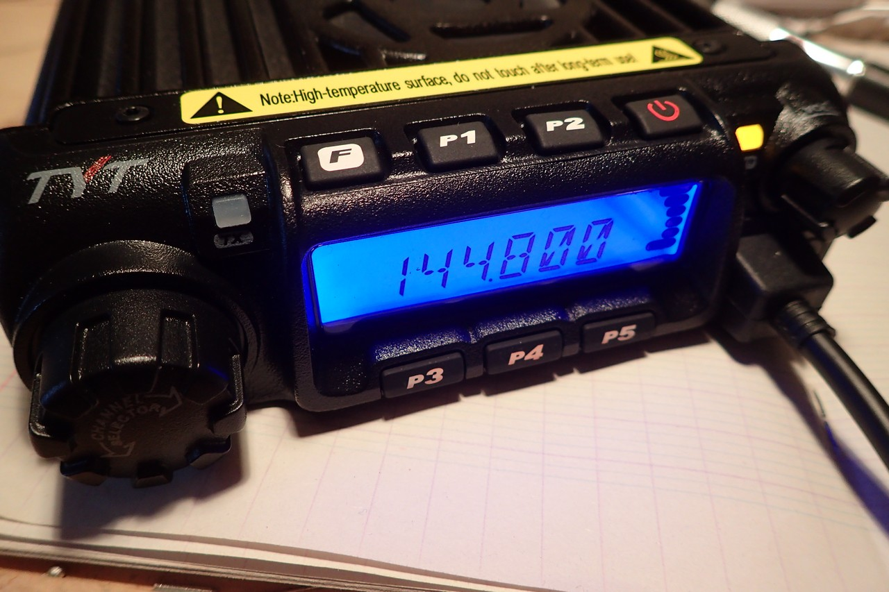 TYT TH-9000D for APRS