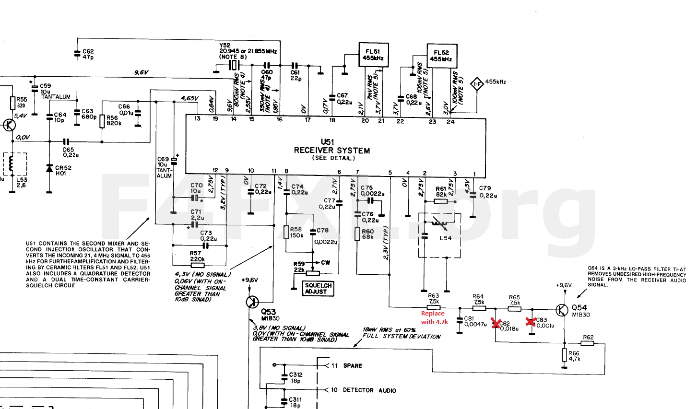 Motorola R100 Repeater Goes Digital F4fxl Wiring Diagram 96v Receiver