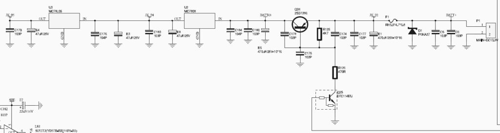 TYT TH-9000D Schematic Excerpt