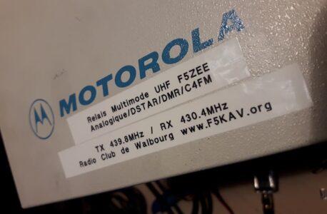 Motorola R100 Repeater goes digital