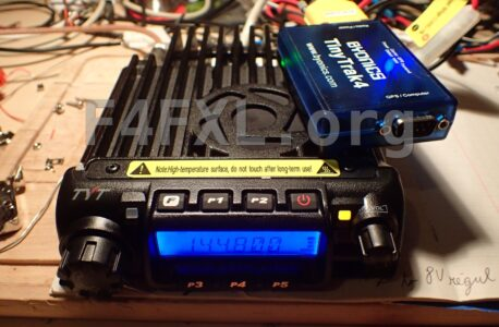 APRS with Tinytrak 4 and TYT TH-9000D