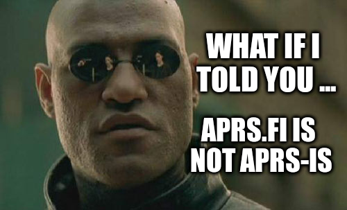 APRS.fi is not APRS-IS