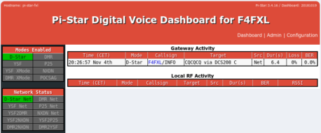 Compile and install the latest ircddbGateway in Pi-Star