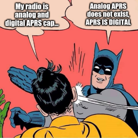 Analog vs. Digital APRS