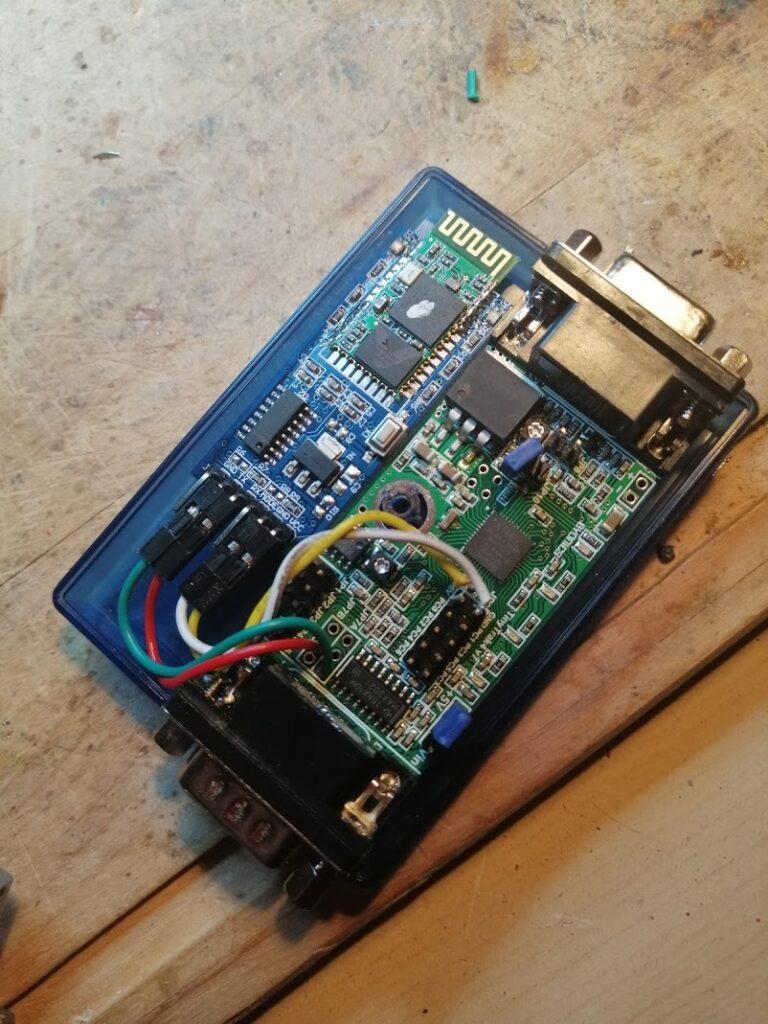 Tinytrak 4 with HC-05 Module
