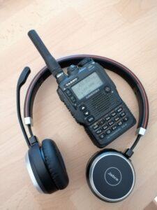 Yaesu VX8 and Jabra Headset