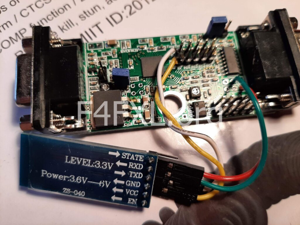 Tinytrak4 and HC-05